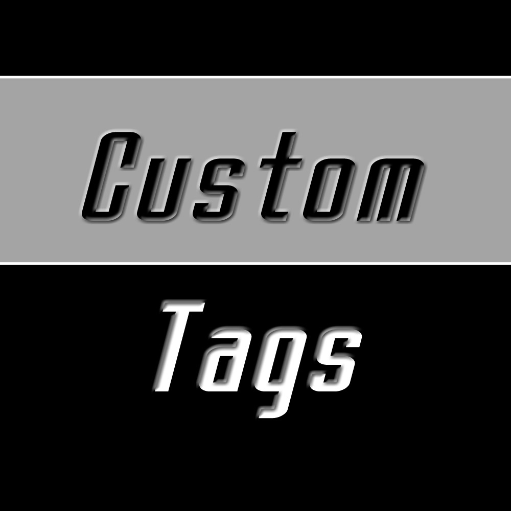 Custom Filter Tags