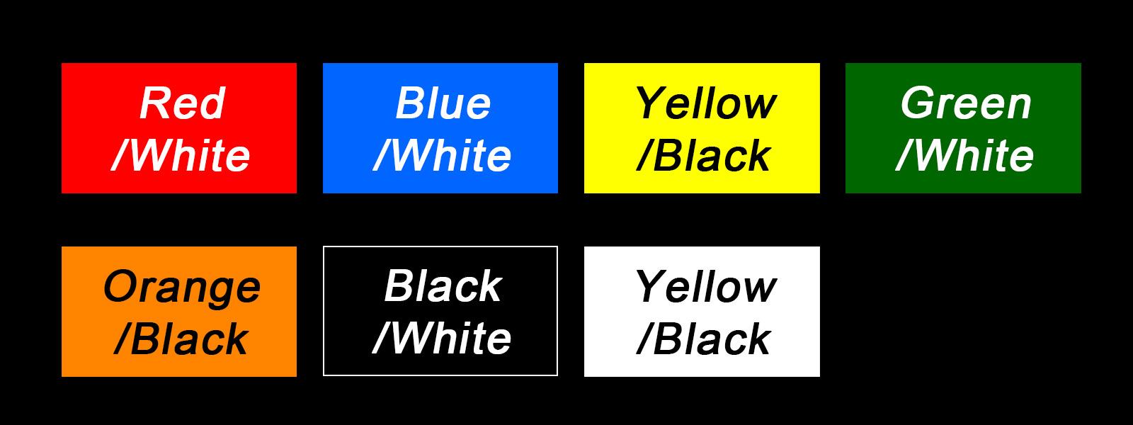 FilterTag Colors
