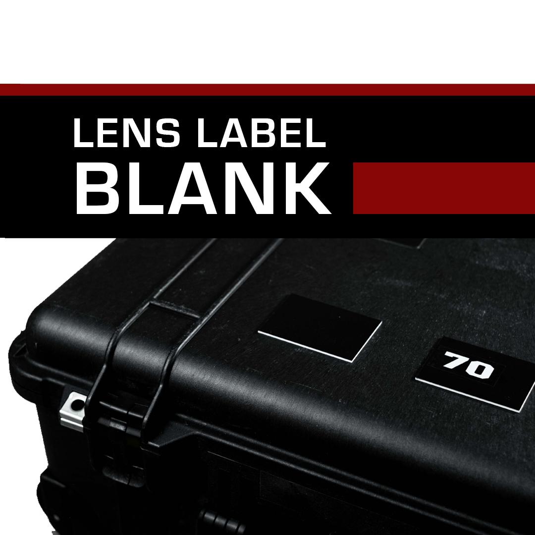 Lens Label – Prime Blanks