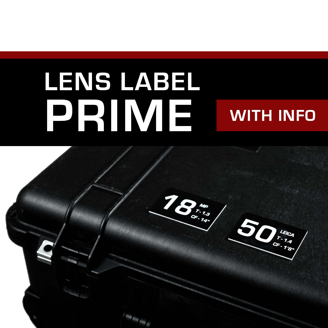 Lens Label – Prime with Info