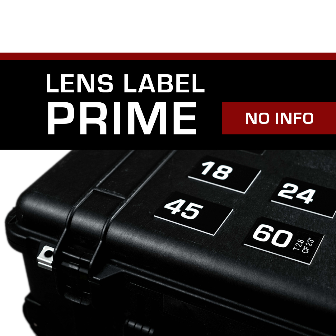 Lens Label – Prime No Info