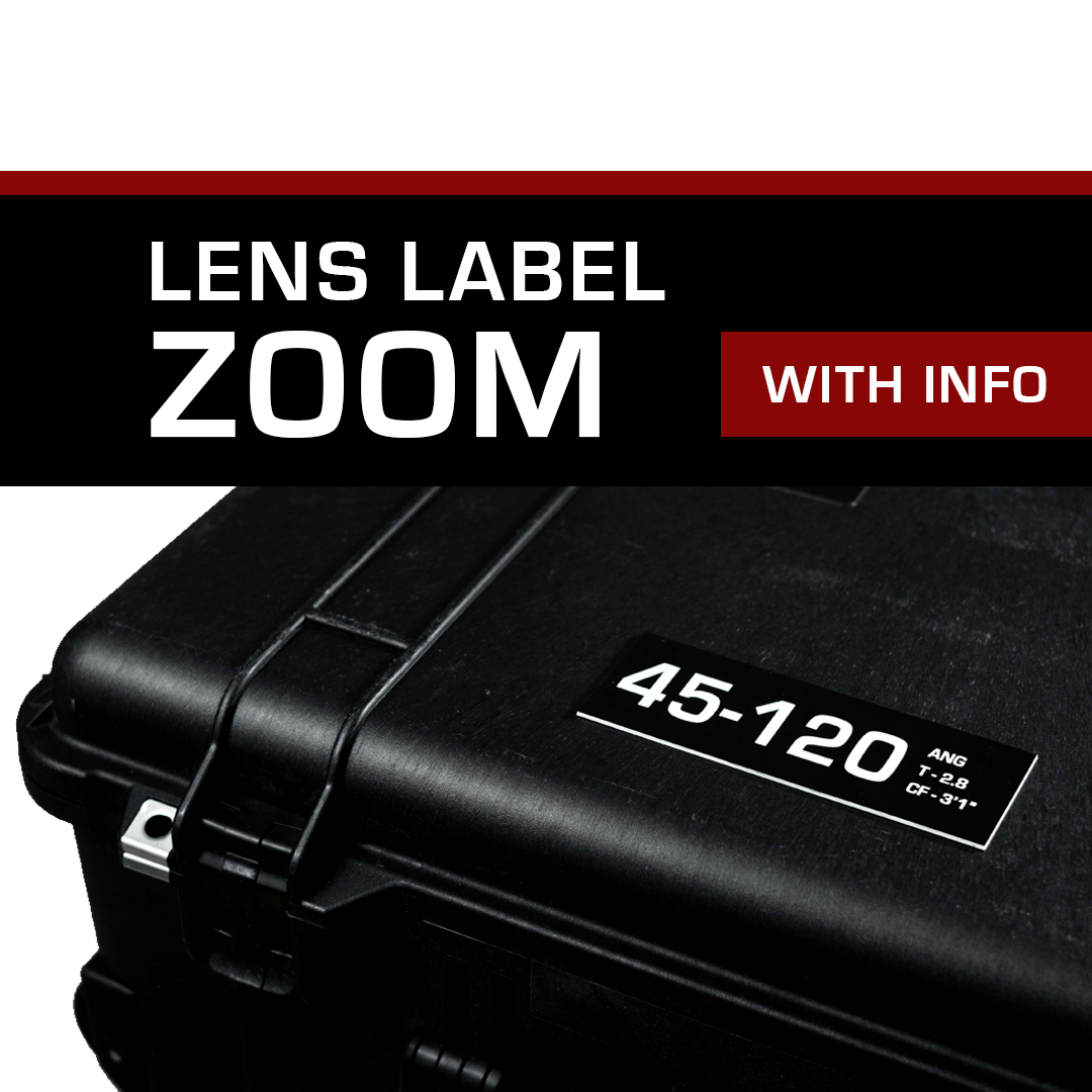 Lens Label – Zoom with Info