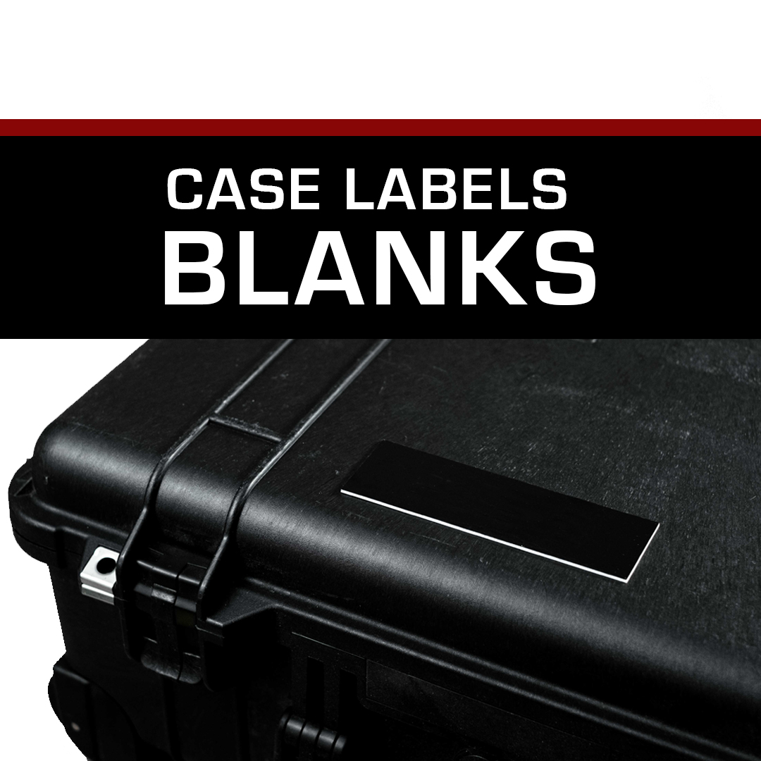 Case Label – Blank