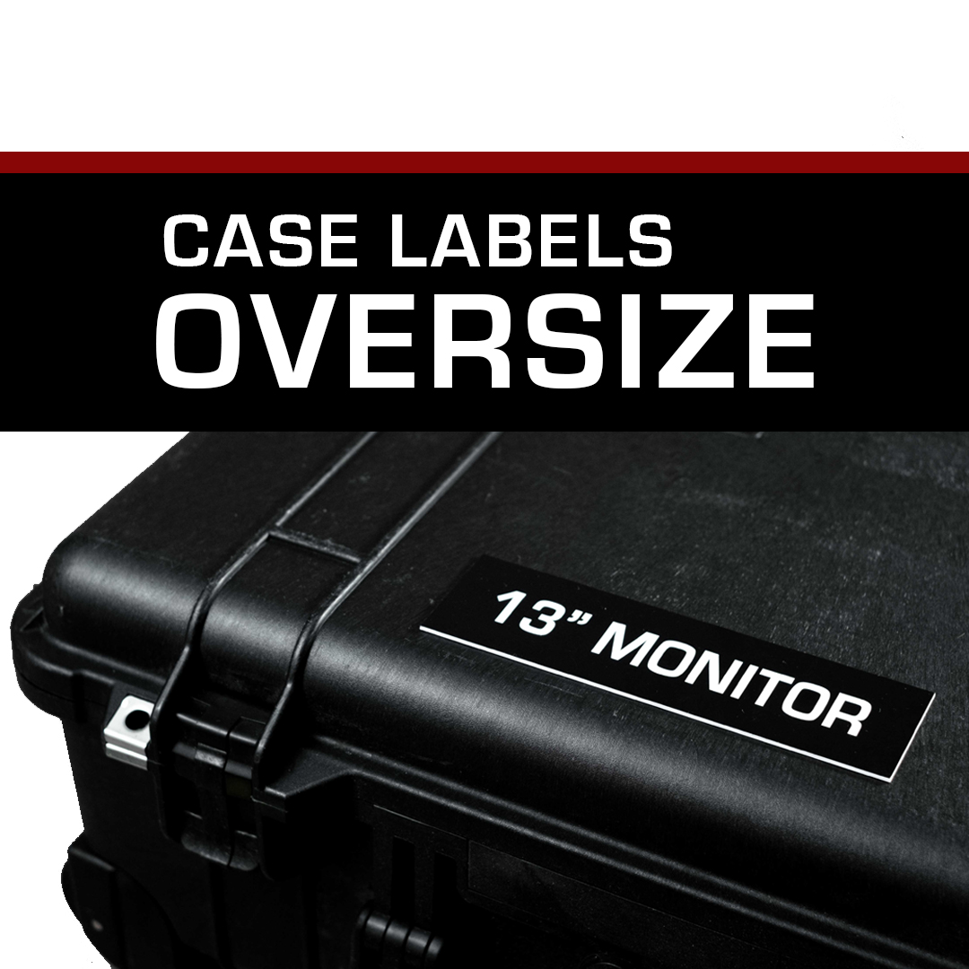 Case Label – Oversized (2×7)
